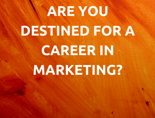 We are recruiting! Are you destined for a career in Marketing?